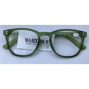 Lunette Rectangle Colors Verte